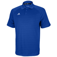adidas Climalite Team Select Polo - Men's - Blue / Blue