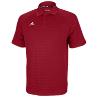 adidas Climalite Team Select Polo - Men's - Red / Red