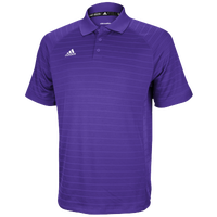 adidas Climalite Team Select Polo - Men's - Purple / Purple