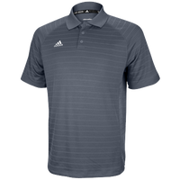 adidas Climalite Team Select Polo - Men's - Grey / Grey