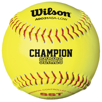 Wilson Fastpitch 12� Softball .47/375 - Yellow / Yellow