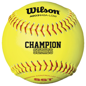 Wilson Fastpitch 12� Softball .47/375 - Yellow