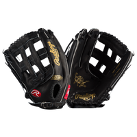 Rawlings Heart of the Hide PRO302-6JB Glove - Men's -  Carl Crawford - Black / Gold