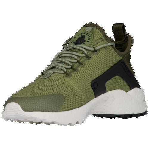 2420698b257e durable service Nike Air Huarache Run Ultra Womens Running Shoes Palm Green  Legion Green Black Sail