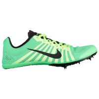 Nike Zoom D - Men's - Light Green / Black