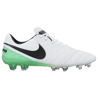 Nike Tiempo Legend VI FG - Men's - White / Black