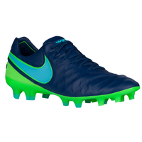 Nike Tiempo Legend VI FG - Men's - Navy / Light Green