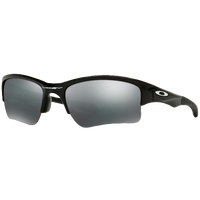 Oakley Quarter Jacket Sunglasses - Grade School - Black / Black