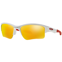 Oakley Quarter Jacket Sunglasses - Youth - White / Red