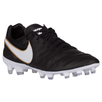 Nike Tiempo Legacy II FG - Men's - Black / White
