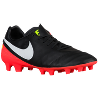Nike Tiempo Mystic V FG - Men's - Black / White