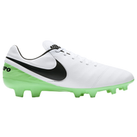 Nike Tiempo Mystic V FG - Men's - White / Black