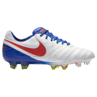 Nike Tiempo Legend VI FG - Women's - White / Blue