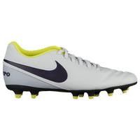 Nike Tiempo Rio III FG - Women's - Grey / Purple