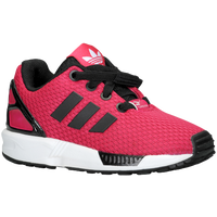 adidas Originals ZX Flux - Boys' Toddler - Pink / Black