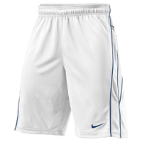 Nike Lax Vapor Shorts - Men's - White / Navy