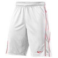 Nike Lax Vapor Shorts - Men's - White / Red