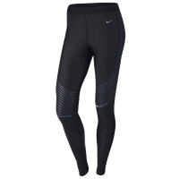Nike Dri-FIT Hyper Power Speed Tights - Women's - Black / Grey