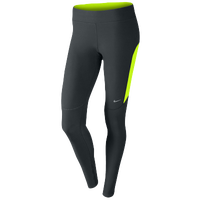 Nike Dri-FIT Filament Tight - Women's - Grey / Light Green
