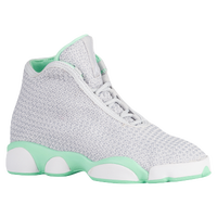 Jordan Horizon - Girls' Grade School - Grey / White