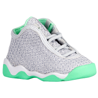 Jordan Horizon - Girls' Toddler - Grey / White