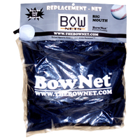 Bownet Big Mouth Replacement Net - All Black / Black