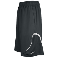 Nike Team Woven Practice Shorts - Men's - Grey / White
