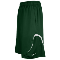 Nike Team Woven Practice Shorts - Men's - Dark Green / White