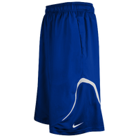 Nike Team Woven Practice Shorts - Men's - Blue / White