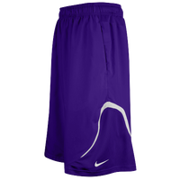 Nike Team Woven Practice Shorts - Men's - Purple / White