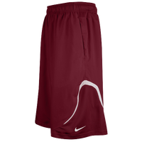 Nike Team Woven Practice Shorts - Men's - Maroon / White
