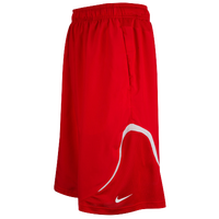 Nike Team Woven Practice Shorts - Men's - Red / White