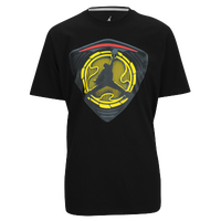 Jordan Retro 14 Shielded T-Shirt - Men's - Black / Yellow