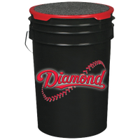 Diamond Ball Bucket - Black / Red