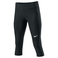 Nike Filament Capris - Women's - All Black / Black