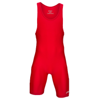 ASICS� Solid Modified Singlet - Men's - Red / Red