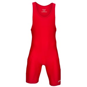 ASICS� Solid Modified Singlet - Men's - Red