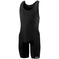 ASICS� Solid Modified Singlet - Men's - All Black / Black