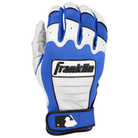 Franklin CFX Pro Batting Glove - Men's - White / Blue