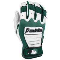 Franklin CFX Pro Batting Gloves - Men's - White / Dark Green