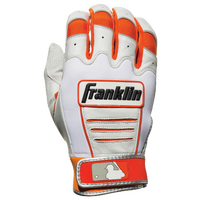 Franklin CFX Pro Batting Gloves - Men's - Orange / White