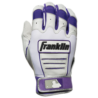Franklin CFX Pro Batting Gloves - Men's - Purple / White