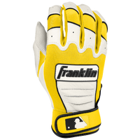 Franklin CFX Pro Batting Gloves - Men's - White / Grey