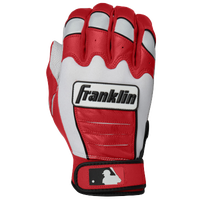 Franklin CFX Pro Batting Gloves - Men's - White / Red