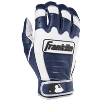 Franklin CFX Pro Batting Glove - Men's - White / Navy