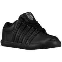 K-Swiss Classic Leather - Boys' Toddler - All Black / Black