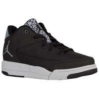 Jordan Flight Origin 3 - Boys' Preschool - Black / Silver