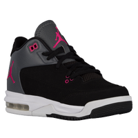 Jordan Flight Origin 3 - Girls' Grade School - Black / Pink