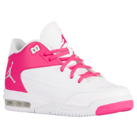 Jordan Flight Origin 3 - Girls' Grade School - White / Pink