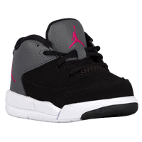 Jordan Flight Origin 3 - Girls' Toddler - Black / Pink